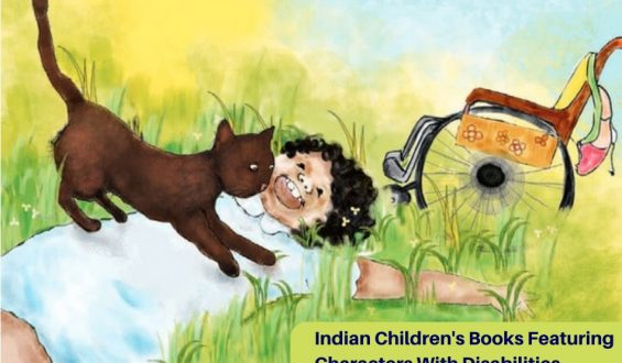 Indian Children's Books Featuring Characters With Disabilities