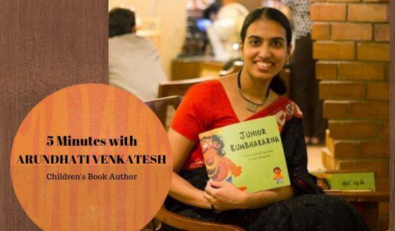Five Minutes With Arundhati Venkatesh