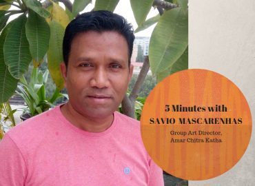 Five Minutes with Illustrator Savio Mascarenhas, Group Art Director of Amar Chitra Katha
