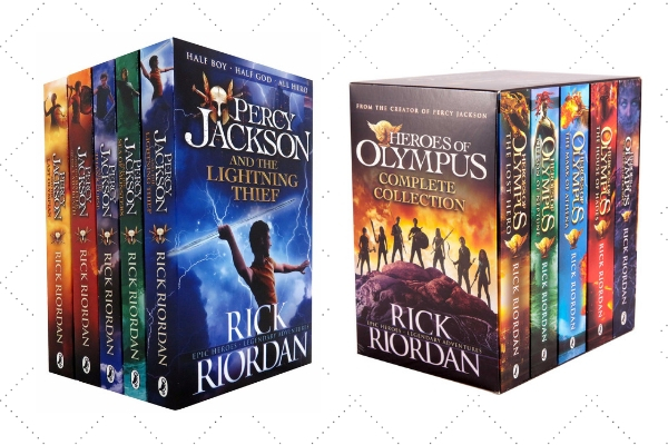 How to Get my Child to read Rick Riodan percy Jackson