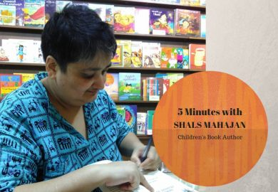 Five Minutes with Indian Children's Book Author Shals Mahajan