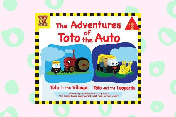 The Adventures of Toto the Auto by author Ruta Vyas