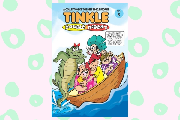Tinkle Double Digest Vol 5