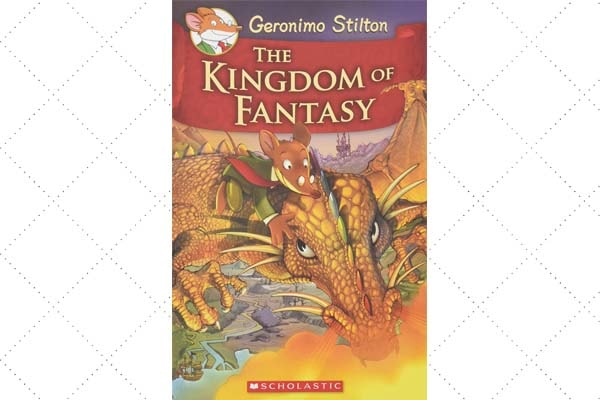 The Geronimo Stilton Kingdom of Fantasy books