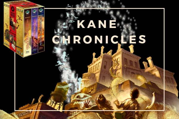 Kane Chronicles list of all rick riordan books
