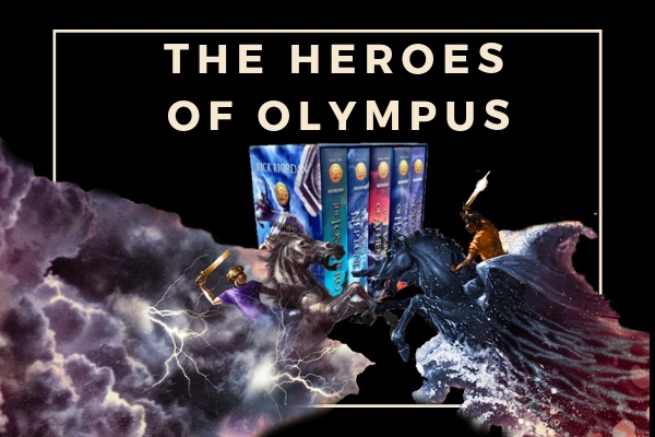 The Heroes of Olympus rick riordan books list