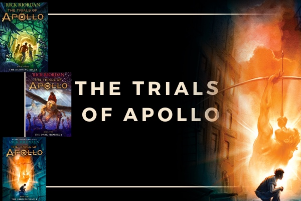 Trials of Apollo rick riordan book list