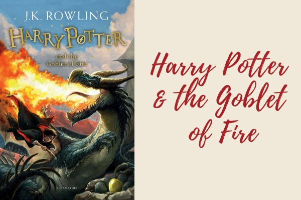 harry potter and the goblet of fire book - harry potter book series list