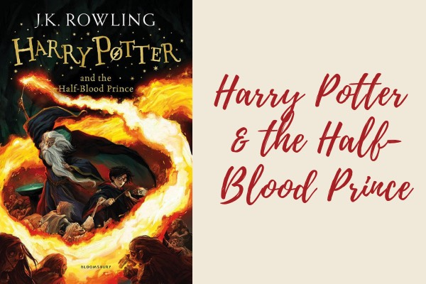 harry potter and the half blood prince book - list of harry potter books