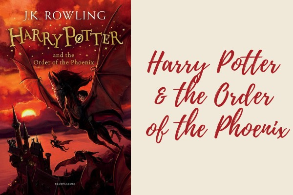 harry potter and the order of the phoenix book - list of harry potter books