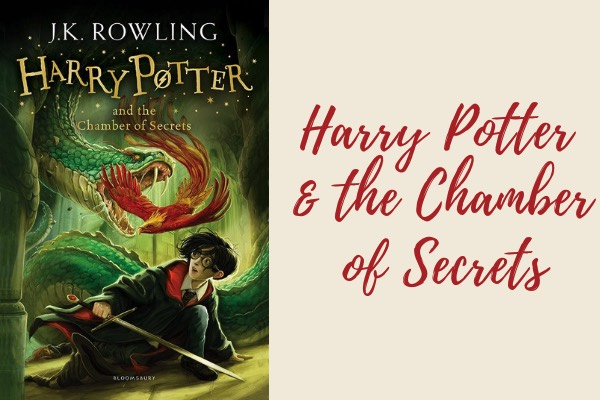 list of harry potter books harry potter and the chamber of secrets book