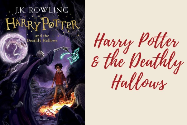list of harry potter books - harry potter and the deathly hallows book