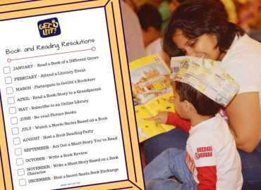 New Year's Resolutions For Kids Based on Books and Reading