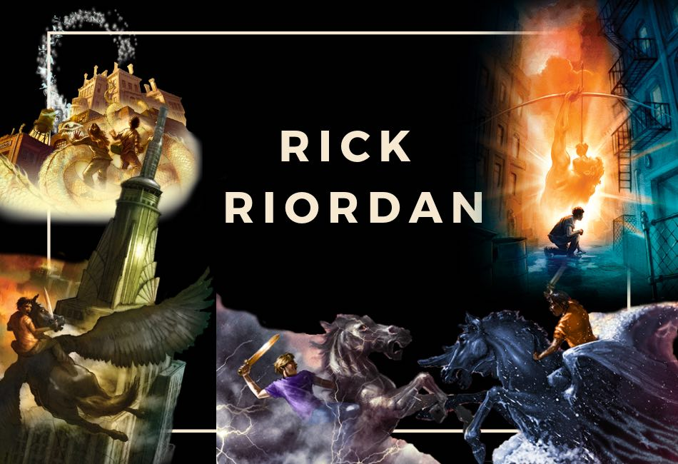 The Rick Riordan Book List : Mythology, Magic & Teenage Protagonists