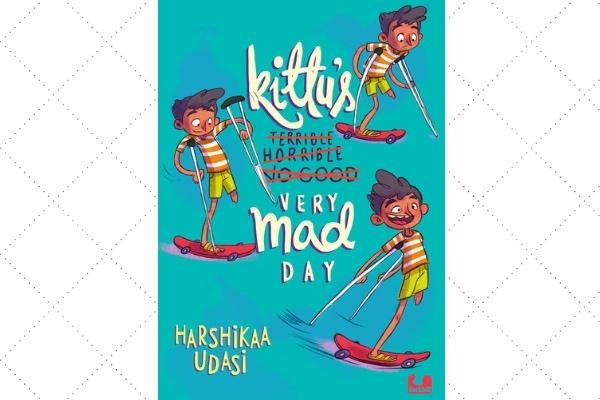 Award winning books Kitu ver mad day harshika udasi