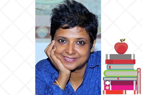 book lovers Vinitha Ramchandani, Children's author and Editor valentines day