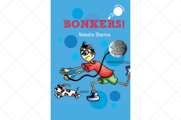 award winning books 2017 Bonkers Natasha Sharma