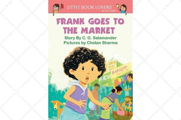 award winning picture books franks goes to the market