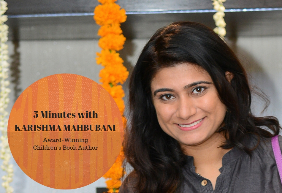Five Minutes with Indian Author Karishma Mahbubani