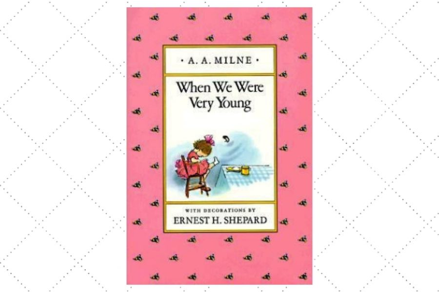best children's poetry books When We Were Very Young by author AA Milne