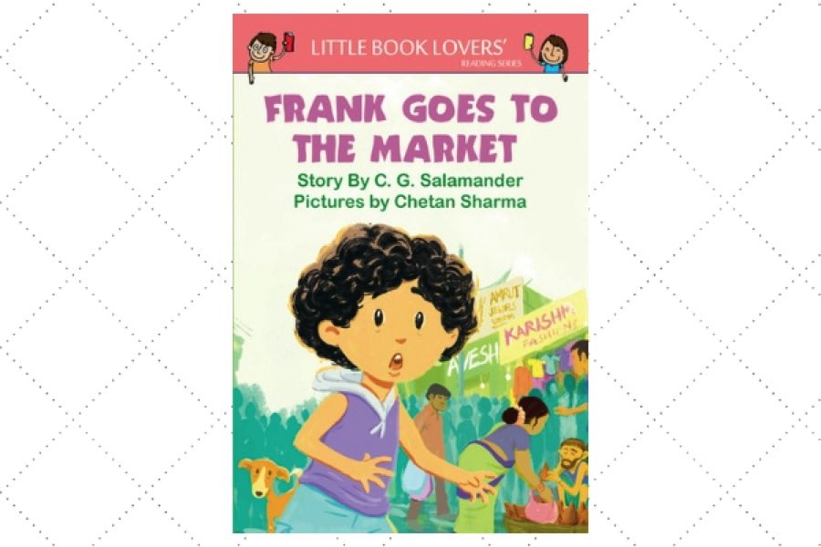 best poetry books for kids Frank Goes to the Market by author CG Salamander