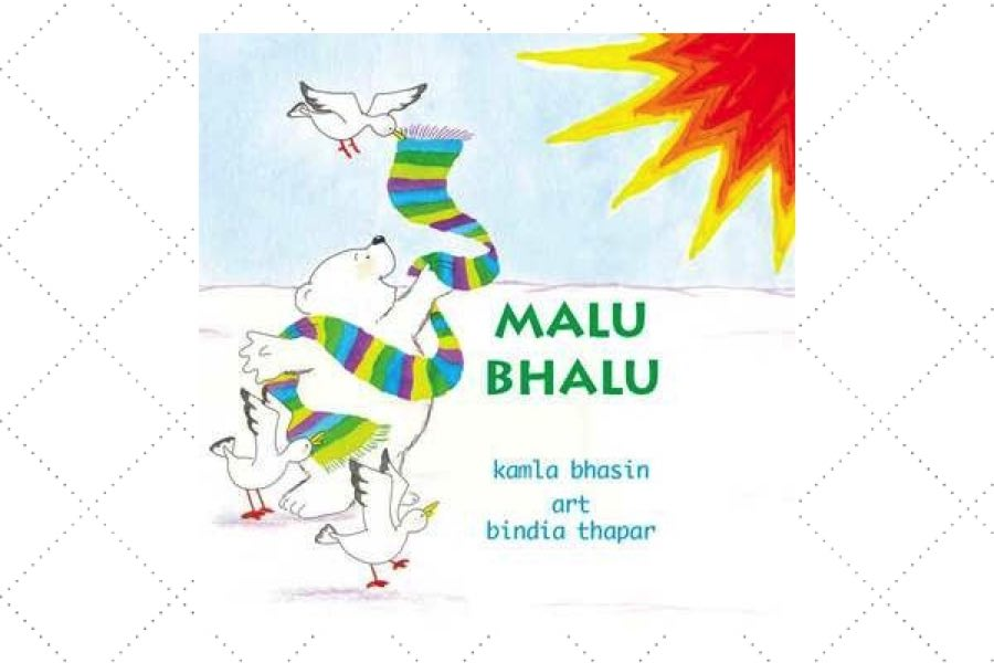 best poetry books for kids Malu Bhalu by author Kamla Bhasin