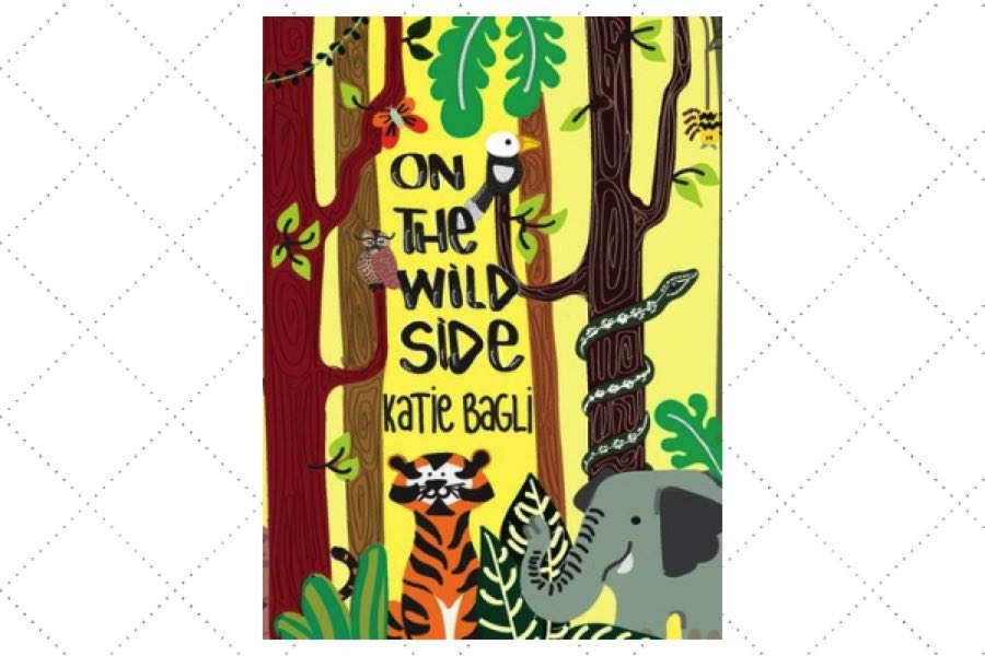 best poetry books for kids On the Wild Side by author Katie Bagli