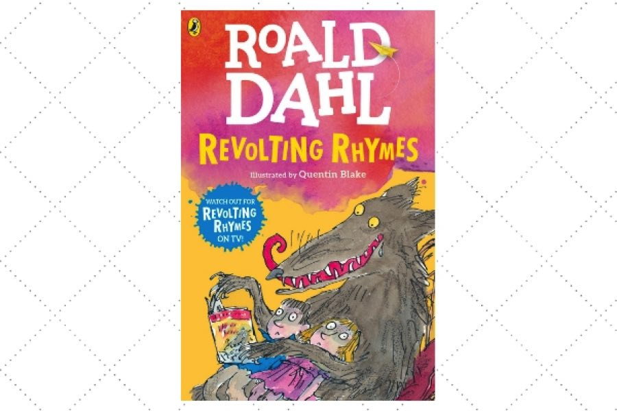 best poetry books for kids Revolting Rhymes by author Roald Dahl