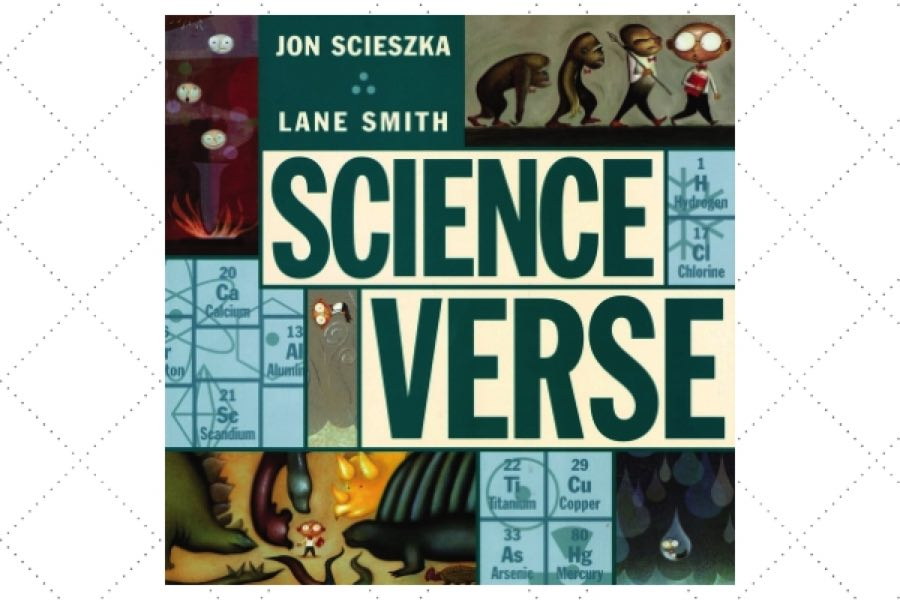 best poetry books for kids Science Verse by author Jon Scieszka