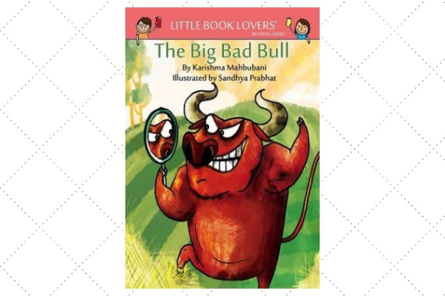 best poetry books for kids The Big Bad Bull by author Karishma Mahbubani