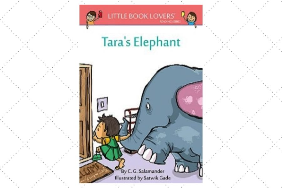 children's poetry books Tara's Elephant by author CG Salamander