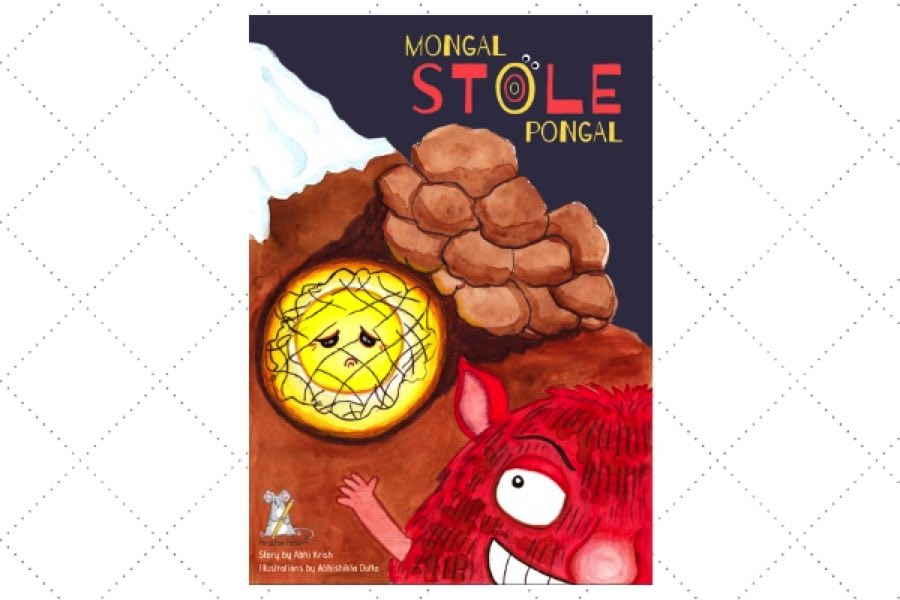 children's poetry books online Mongal Stole Pongal by author Abhi Krish
