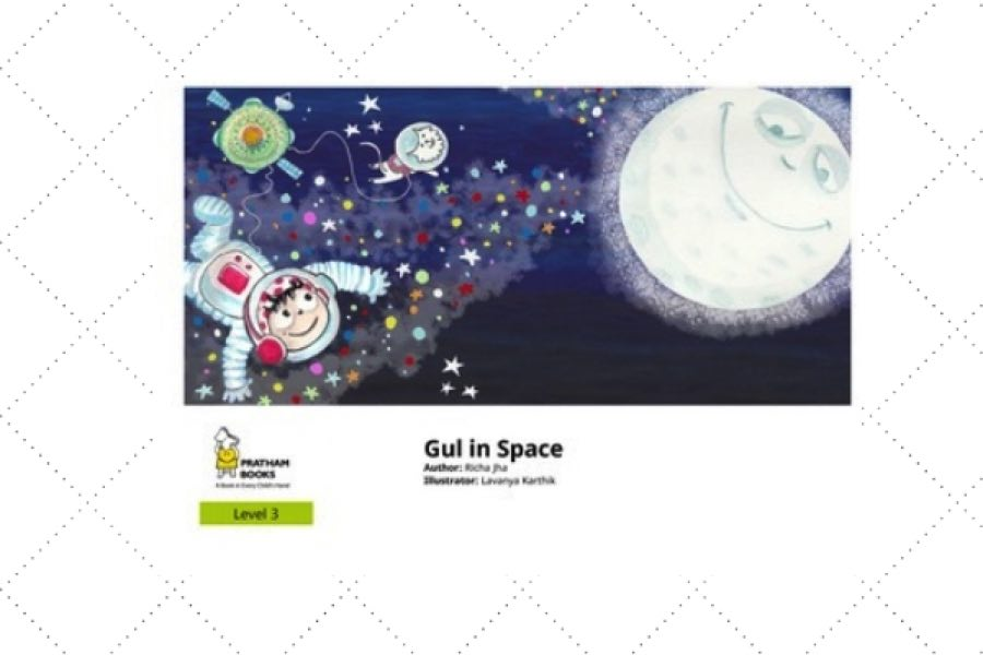 english poetry book for kids Gul in Space by author Richa Jha