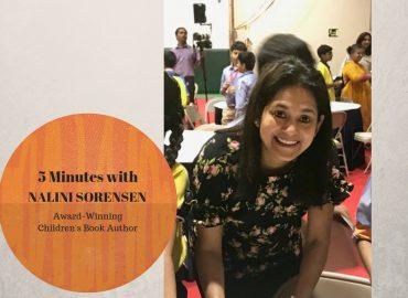 Five Minutes with Indian Author Nalini Sorensen