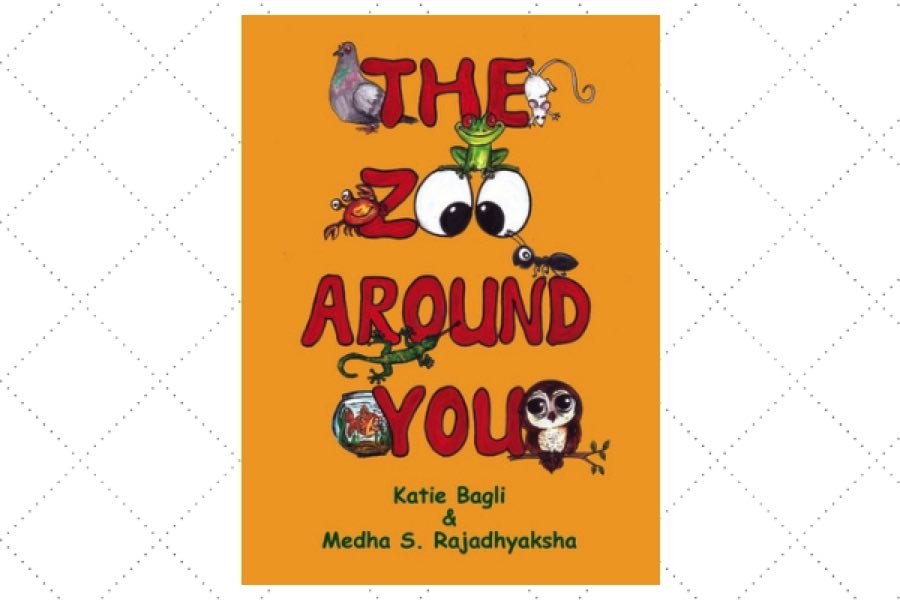 poetry books written by children The Zoo Around You by author Katie Bagli