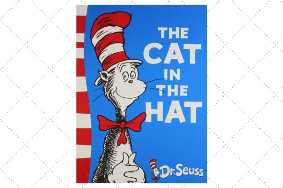 popular children's poetry books The Cat In The Hat by author Dr Seuss