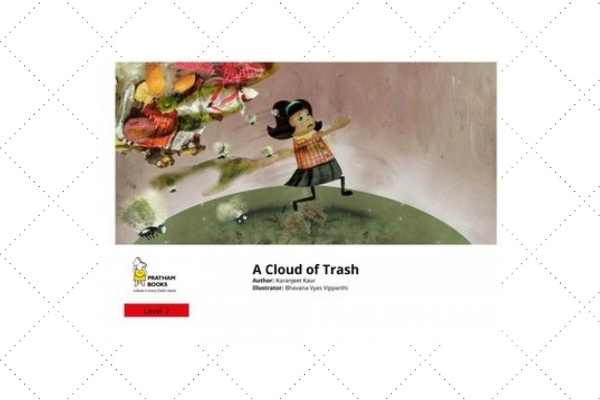 a cloud of trash earth day books for kids