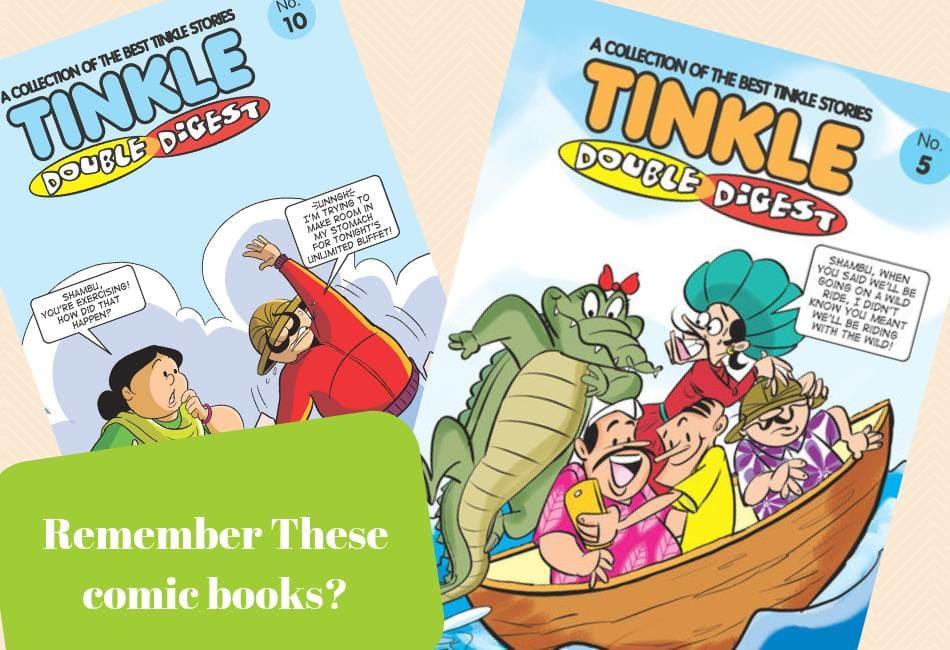 Nostalgia: Tinkle Stories Read Online