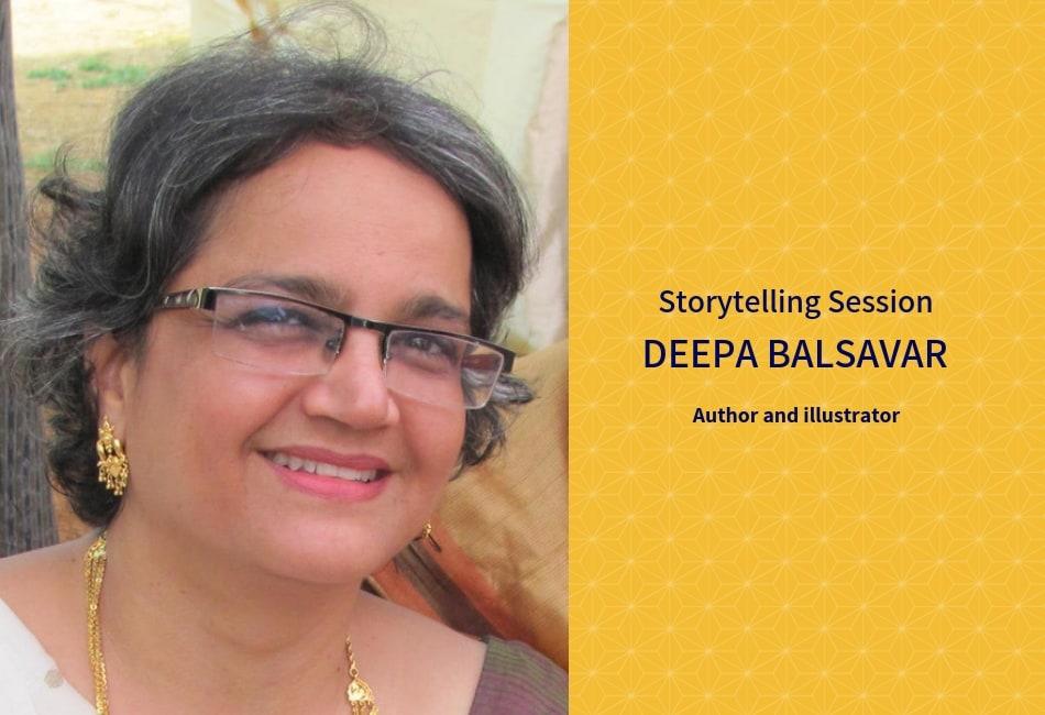 Storytelling Session With Deepa Balsavar