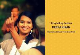 Storytelling Session with Deepa Kiran