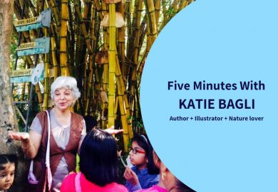 Five Minutes with Indian Author Katie Bagli