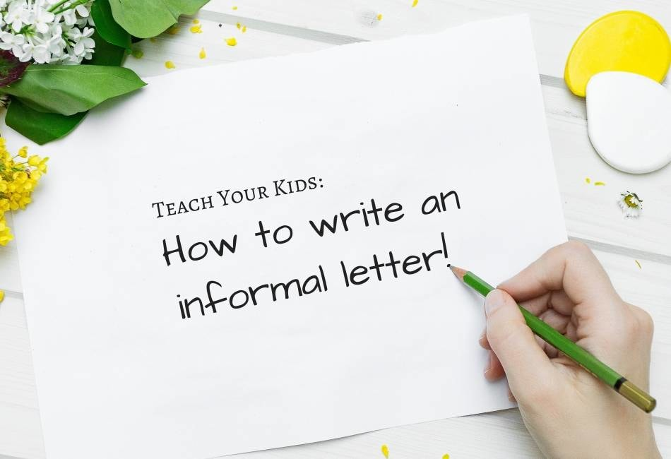 How to Write Informal Letter