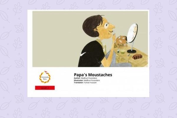 Papa's moustaches