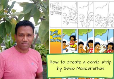 How To Make A Comic Strip With Dialogues On Any Topic