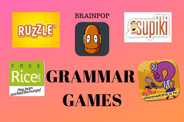 Grammatical mistakes Games