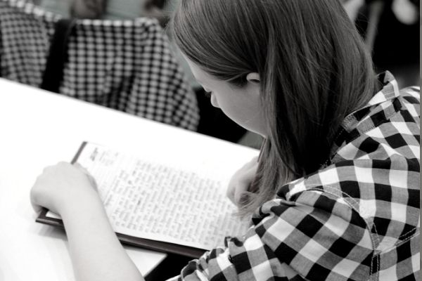 How to write an essay in english Girl Writing Essay