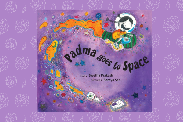 padma goes to space