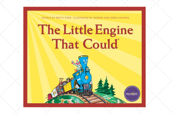 Positive thoughts little engine