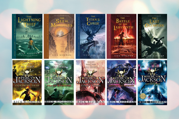 Percy Jackson Series Books