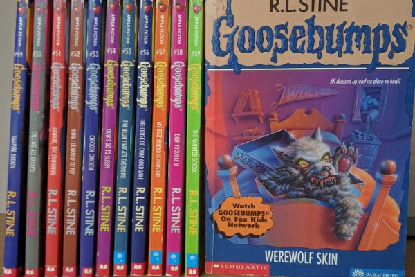 Goosebumps series RL Stine